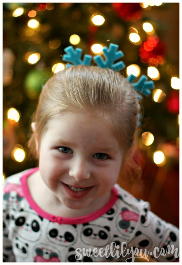Avery snowflake hairstyle