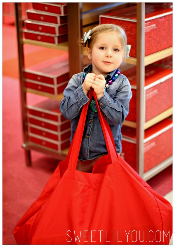 Avery shopping at American Girl Store