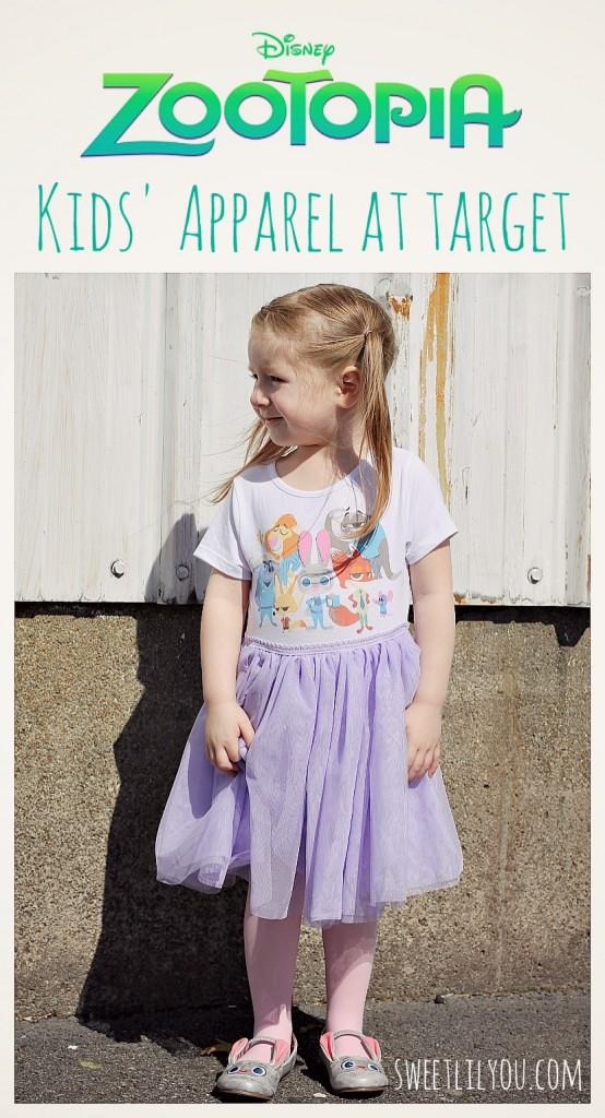 zootopia kids apparel at target