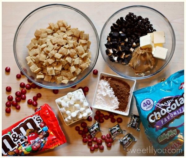 Ingredients for Ghostbuster mix