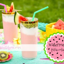 Easy Watermelon Pina Colada - Summer Drink