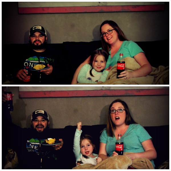Family Movie Night with Coca-Cola