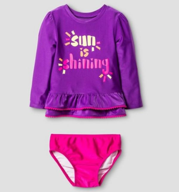 Sun Is Shining Rashguard set