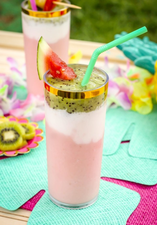 Watermelon mixed drink