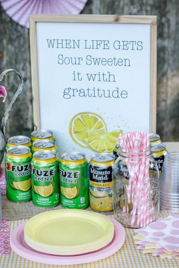 lemons gratitude
