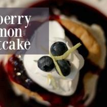Blueberry Lemon Shortcake