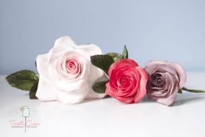 Roses en gumpaste