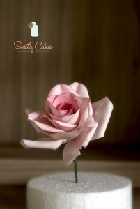 Rose en gumpaste