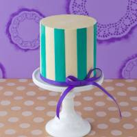 Perfect Buttercream Stripes {Part Two}