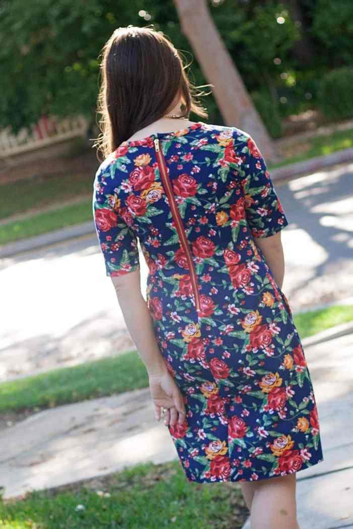 Hey June Charleston Dress Back View