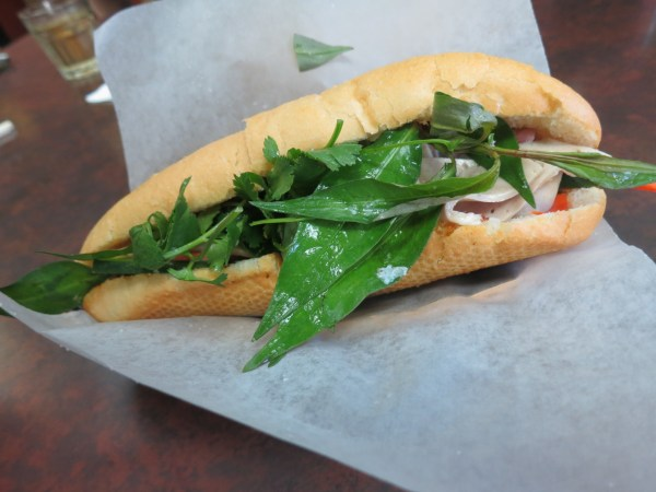 Special French Bread - Banh Mi Dac Biet: Delicious! Well flavoured - packed with meat