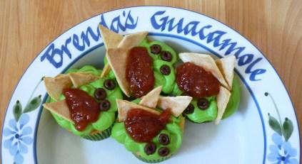 Guacamole Cupcakes