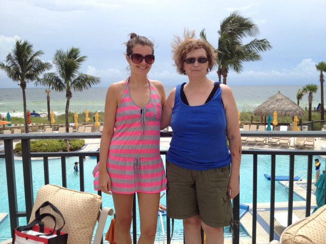 beach club mom and i