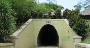 Knolly's Tunnel Exterior by Nadia Ali in sweet T&T for Sweet TnT Magazine, Culturama Publishing Company, for news in Trinidad, in Port of Spain, Trinidad and Tobago, with positive how to photography.