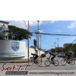 Racing past the Oval - Michael Phillips Republic Day Cycling Classic 2015 in sweet T&T for Sweet TnT Magazine, Culturama Publishing Company, for news in Trinidad, in Port of Spain, Trinidad and Tobago, with positive how to photography.