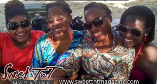 Birthday lime at Clifton Hill Beach with Lee Ann Quan Chan, Gena-Marie Bereaux, Marina Roberts, Annisa Phillip in Sweet T&T, Sweet TnT Magazine, Trinidad and Tobago, Trini, vacation, travel