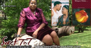 Donna Mae Greaves with novels At last, Whispers Within, writing Literature, Sweet T&T, Sweet TnT, Trinidad and Tobago, Trini, travel,