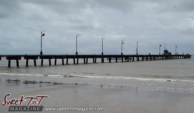 Icacos jetty by Marika Mohammed for story Icacos end of Trinidad in Sweet T&T, Sweet TnT, Trinidad and Tobago, Trini, vacation, travel