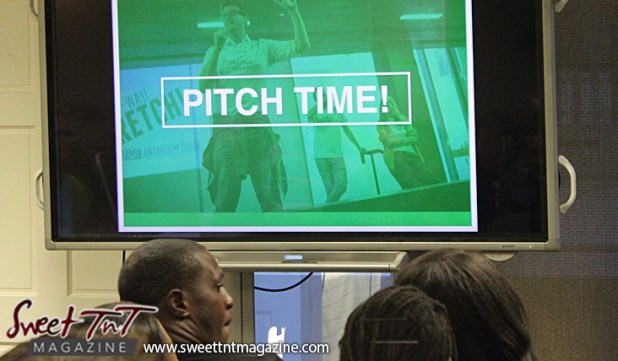 Pitch time on screen at Launch Rockit in sweet t&t for Sweet TnT Magazine in Trinidad and Tobago