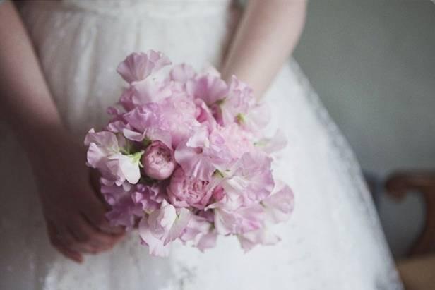 Wedding Flower Inspiration Sweet Pea