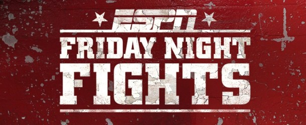 ESPN Friday Night Fights Weigh-Ins Take Place Thursday in Santa Fe