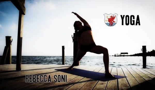 オリンピックメダリスト、レベッカ・ソニも取り入れるヨガトレーニング