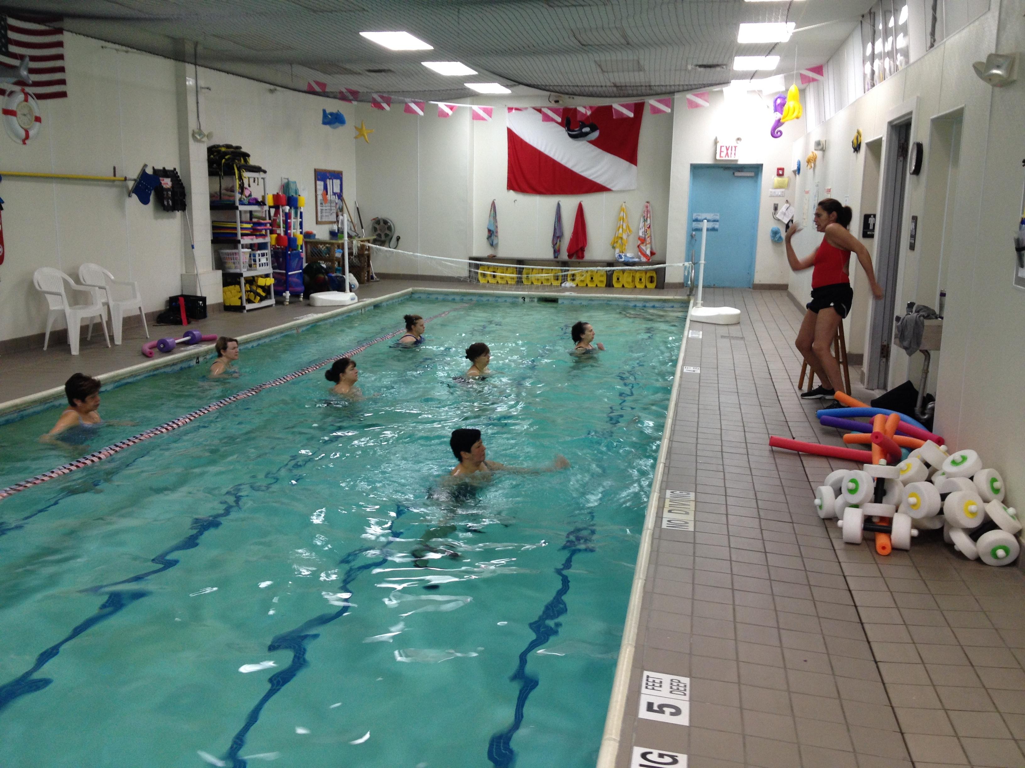 Swim and Scuba Heated Pool: Center for Aquatics Training