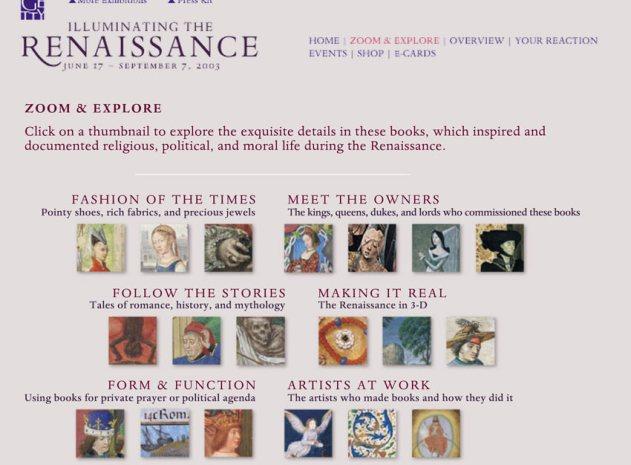 "Getty ""Illuminating The Renaissance"" Exhibition zoom & explore."