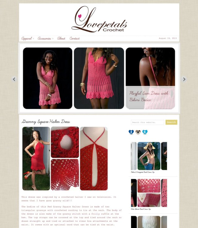 Love Petals Crochet home page