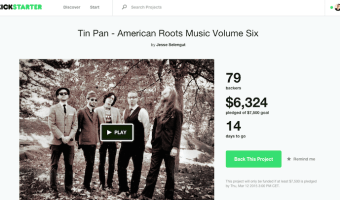 "Tin Pan's Kickstarter Campaign for their Sixth Album Release ""Yes, Yes, Yes"""