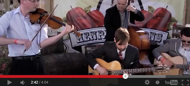Footage from Cheltenham Jazz Festival