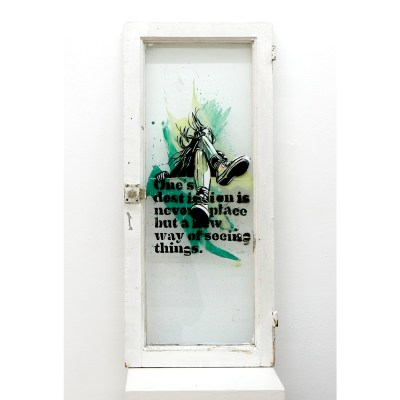 Destination_spray-and-acrylic-on-found-window_31x72-cm_2017_1500.jpg