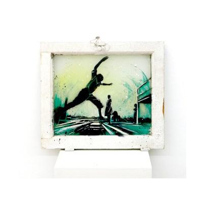 Skip_spray-and-acrylic-on-found-window_37x42-cm_2017_1000