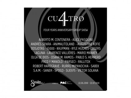 CU4TRO  |  GROUP SHOW  |  22.06.2018 – 22.07.2018