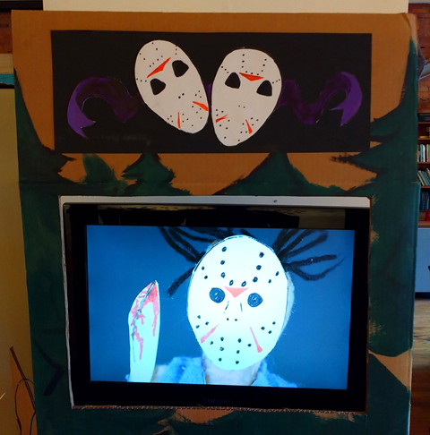 Friday The 13th puppet show. 10 minute video performance by Trisha Lavoie.