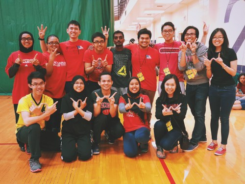 University of Wisconsin-Madison won third place for Dodgeball at the Malaysia Midwest Games 2015