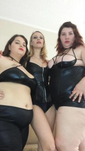 Betty Jetson, Sydney Screams & Vicky Vix