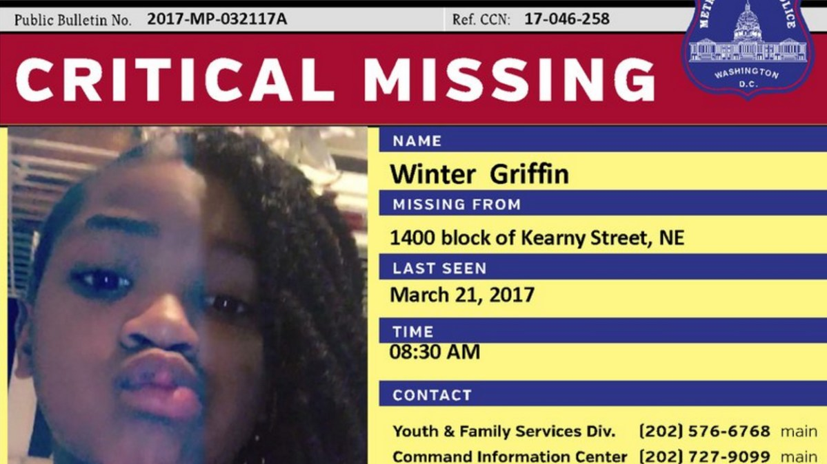 On the Brink of Yet Another Missing Black Girl in D.C., Let's Continue the Conversation: Where Are Our Black Girls?