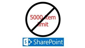 No 5000 item limit