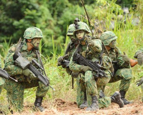 singapore-army