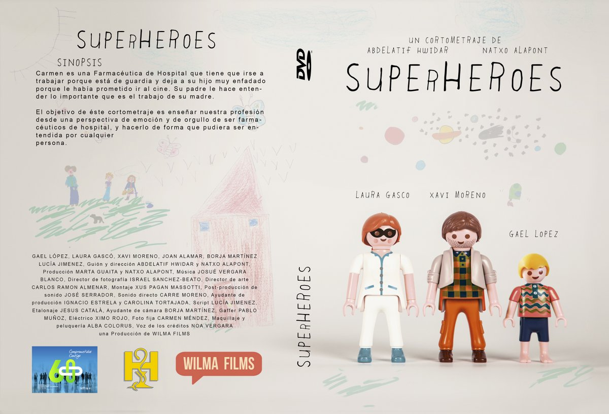 SUPERHEROESDVD