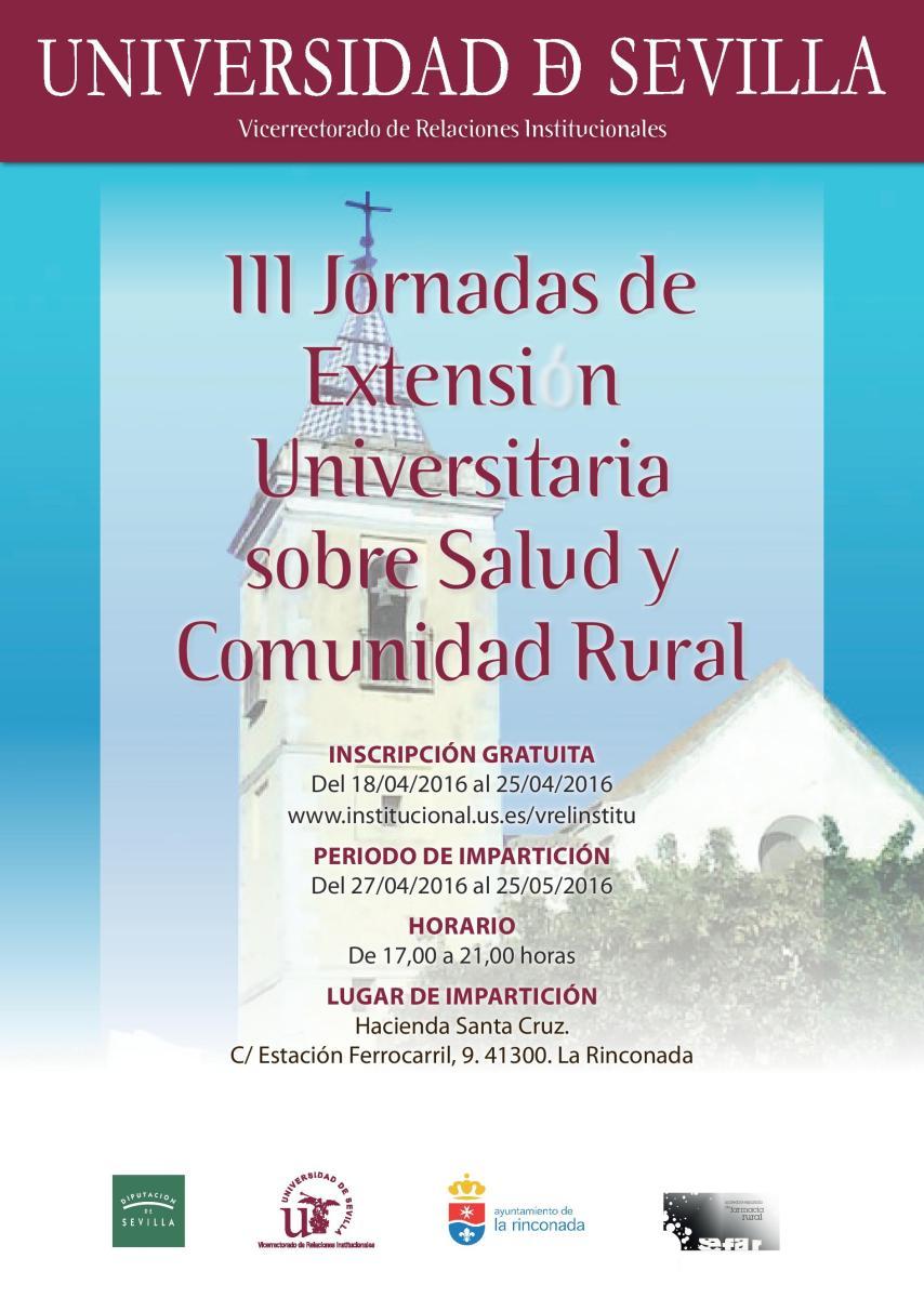 III Jornadas Universitarias sobre Salud y Comunidad Rural