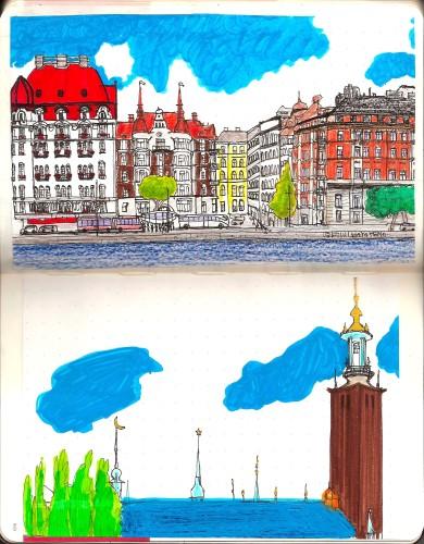 9月18日発売「モレスキンのある素敵な毎日」でスウェーデン旅日記をご紹介いただきました。