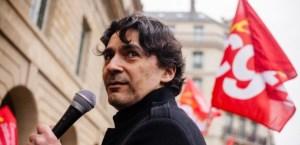 Karl Ghazi, leader de l'intersyndicale Clic P