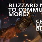 Blizzard Needs to Communicate More? Crithto Leaves Blizzard