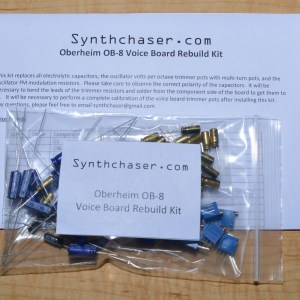 Oberheim OB-8 Voice Board Rebuild Kit