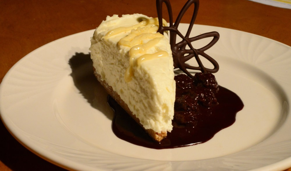 White Chocolate Goat Cheesecake