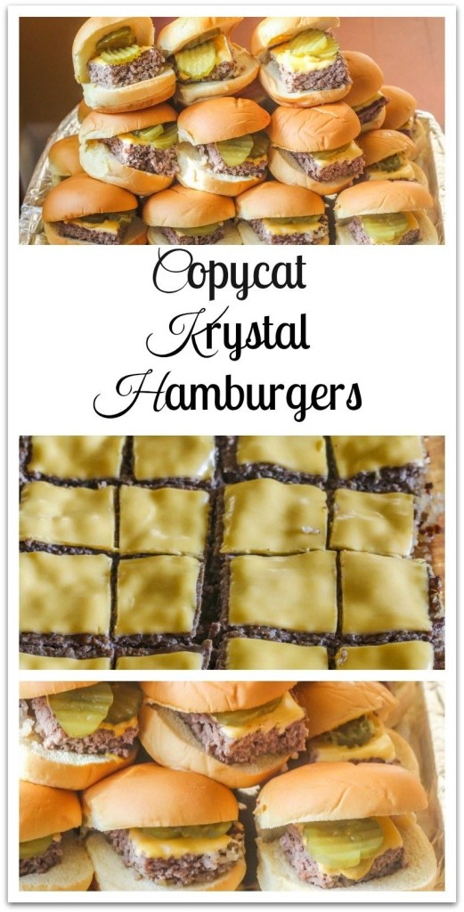Copycat Krystal Hamburgers.An easy to make version of the original.