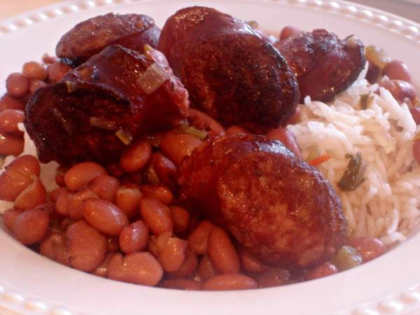 Red Beans and Rice ~ Syrup and Biscuits