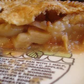 My Walk to Emmaus (recipe:  Old Fashioned Apple Pie)